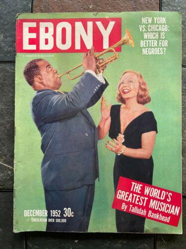 VINTAGE EBONY MAGAZINE DECEMBER 1952 ITEM #5700-100