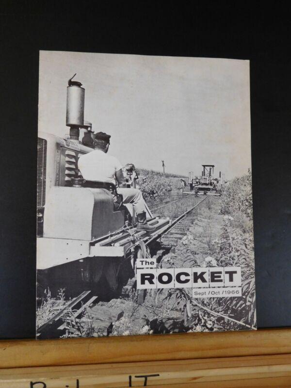 Rocket, The 1966 September-October Vol. XXV No.5 Rocket Island Employee Magazine