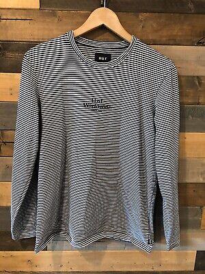 HUF Men/Teen Long Sleeve Striped Shirt size M