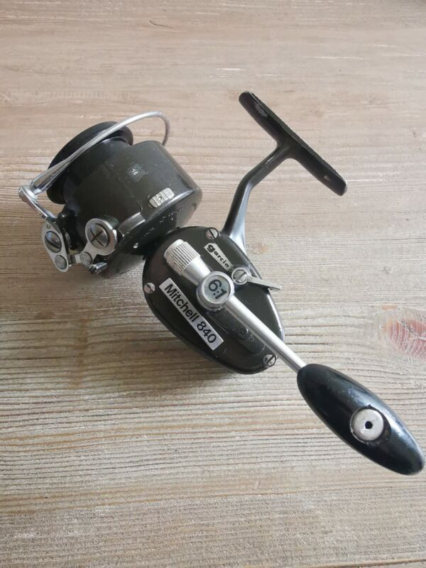 Rare Vintage Mitchell Garcia 840 Fishing Reel In Excellent Condition