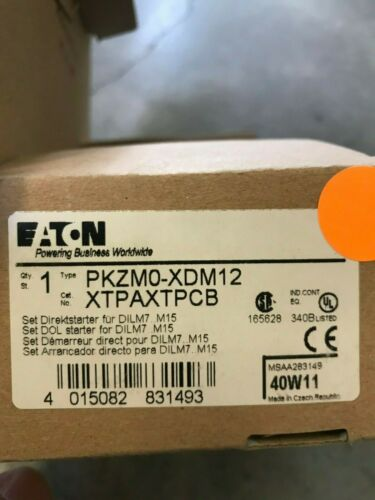 Eaton Contactors and Starter