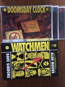Watchmen Graphic Novel & 3 Issues collection