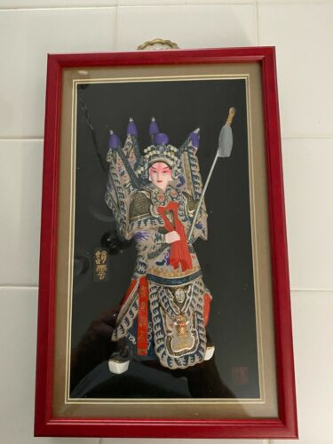 Chinese Characteristic Oriental Crafts Mirror Frame Wall-mount