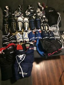 Top of the line Used Hockey Gear Cheap