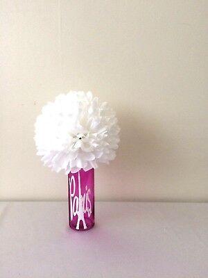 6 Paris Centerpiece Sweet 16 Baby Shower Wedding Flower Ball Paris Party Decor - Paris Baby Shower Decorations