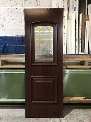 Second Hand UPVC Door Panel, 625mm Wide By 1780mm Height, 28mm Thick, (P732)