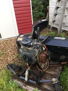"Berco 66"" snowblower 23 Hp"