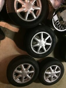 "14"" Orlando wheels 4x100 Cambridge Kitchener Area image 1"