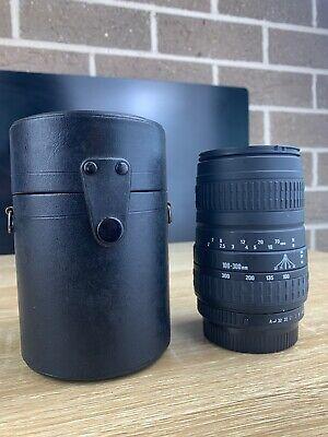 Sigma Zoom 100-300mm 1:4.5-6.7 DL Lens For Pentax KAF KA Mount w/Case Excellent