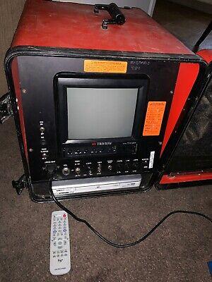 General Gen-eye W Dvd Sewer Inspection Triview Monitor Case Keyboard As Is