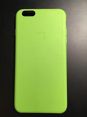 Originale Coque Apple iPhone 6 plus verte pomme