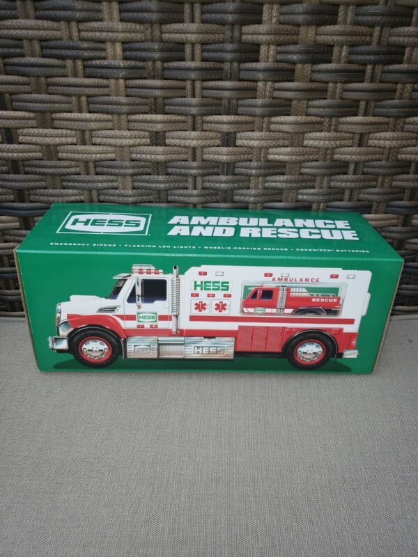 2020 HESS TRUCK AMBULANCE AND RESCUE TRUCK IN HAND READY TO SHIP