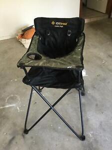 Oz trail junior camping high chair Gungahlin Gungahlin Area Preview