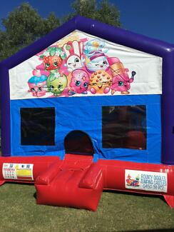 Shopkins C4 combo Jumping Castle for hire