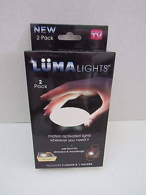 Luma Lights - AS SEEN ON TV - NEW in Original Packaging - Motion Activated Light