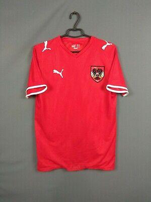 Austria Jersey 2008 2009 Home S Shirt Puma Football Soccer ig93 image