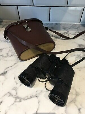 Genuine Carl Zeiss Jena Jenoptem 10 x 50W 10X50W Multi-Coated Binoculars & Case
