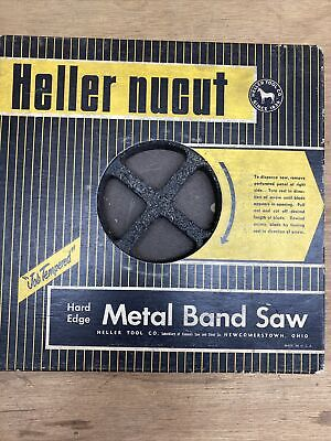 Heller Nu-carb Simonds Hard Edge Metal Band Saw Coil 38 10 Tpi About 100 Feet