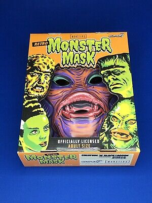 Super7 Creature Black Lagoon Mask Universal Monsters Orange Halloween Retro