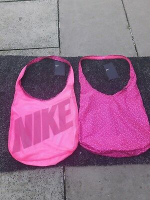 Brand New With Tags Nike 2 In 1 Gym Tote Bag In Pink holds 21 litres