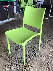 Cafe / Restaurant Dining Chairs - 10x green Nundah Brisbane North East Preview