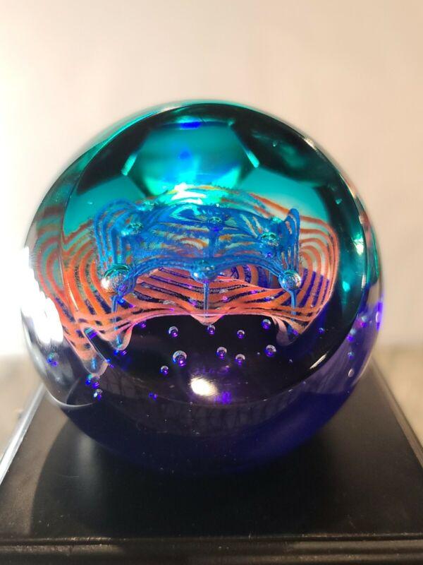 Caithness Glass PAPERWEIGHT Galaxy #30/500