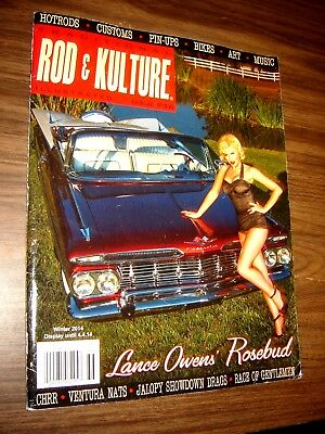 Rod & Kulture Magazine Winter 2014 Lance Owen's Rosebud - box 18-C ()