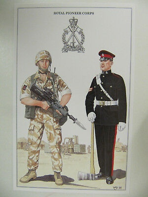 Royal Pioneer Corps - Military Postcard (Geoff White Ltd.)