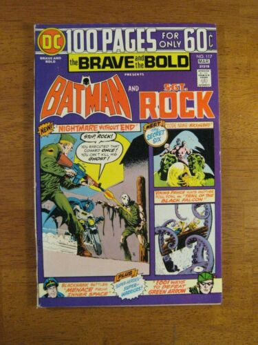 BRAVE & BOLD #117 Batman+ 100 Pgs! (VF+) Gorgeous! Great Spine!