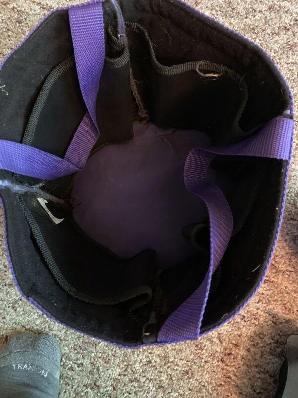 Purple Grooming Tote