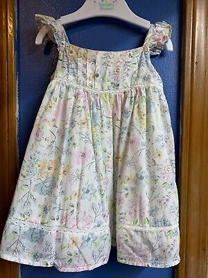 Tommy Bahama Baby Sleeveless Floral Lined Dress Size 6-9 months~~~C8