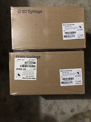 Bd 5ml Luer-lok Tip Syringe 125ct 309646 Case Of 4 Without Needle Newsealed