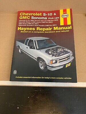 Repair Manual 24071 Haynes Publications Chevrolet S-10 / Blazer & GMC Sonoma