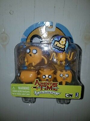 Adventure Time Jake Battle Pack 2-Inch Mini Figure Set. New in damaged packaging