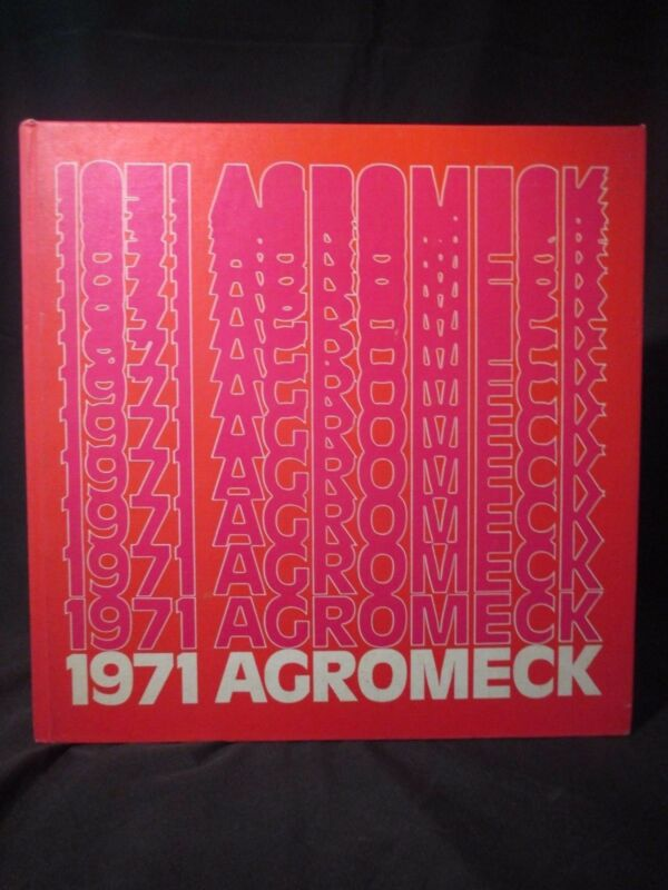 1971 North Carolina State University Yearbook Argomeck Annual Raleigh NC