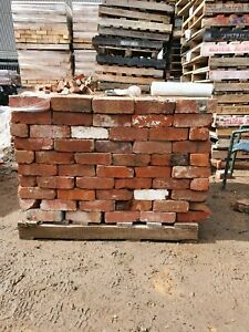 B Grade recycled red bricks