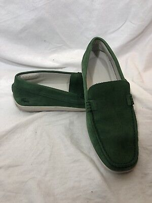 0a5a0dfa4e08 Mens Lacoste Concours 118 Driver Leather Loafers Shoes Make an estimate of  10.5.  89.95. Lacoste Mens Country-like Suede Slip On Loafer Size 10