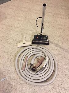 Central Vac hose and Power head