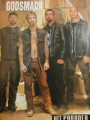 Godsmack, Full Page Pinup