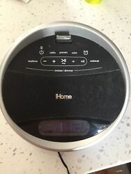iHome iA17 App-enhanced Color Changing Stereo FM Alarm Clock Radio for iPhone