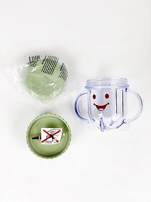 Baby Bullet Blender Cup + Lid + Blade BB-101 Food System Replacement Piece Part