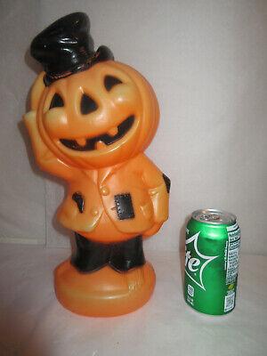 Vintage Empire Halloween Blow Mold Anthropomorphic Pumpkin Jack-O-Lantern Man