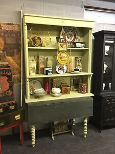 ECLECTIC ANTIQUE CUPBOARD on sale $450