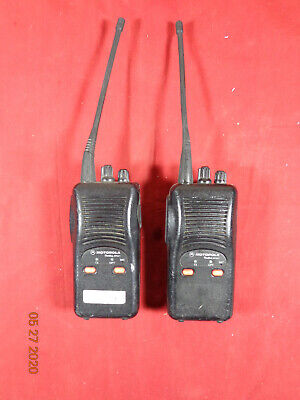Motorola Radius Sp50 Portable 10 Channel Radios With Antennas P94yqs20g2aa B26