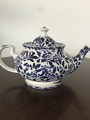 DUCHESS BLUE CHINTZ PORCELAIN TEAPOT