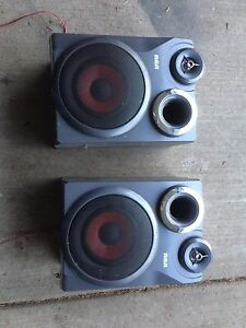 RCA stereo speakers