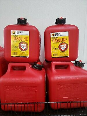 Midwest Can 2310 Fmd Gasoline Container 2 Gallon Gas Can Plus 8 Oz. For Oil