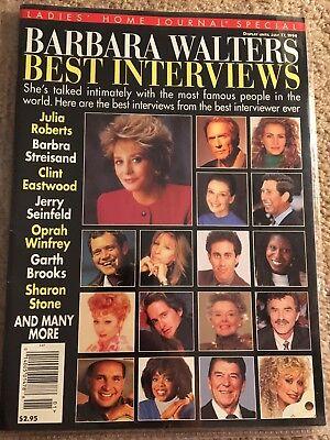 Ladies Home Journal Special- Barbara Walters Best Interviews July 17, (Best Barbara Walters Interviews)