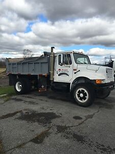 1991 International 4900 DT466 Dump Truck Kingston Kingston Area image 6