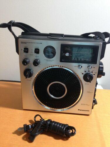 Panasonic 6BAND FM M/AM/MB/SW1/SW2/CB Receiver Model No RF-1150,Good Condition.